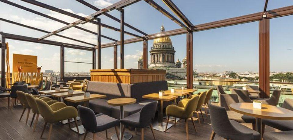 Завтраки с панорамным видом от SO/ St. Petersburg