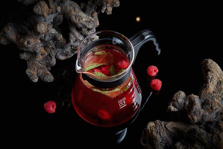 Горячие напитки в ресторане «На Мосфильмовской» - Малина-смородина