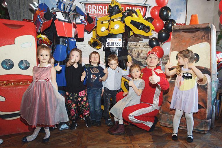 Детский Halloween в ресторане «На Мосфильмовской»