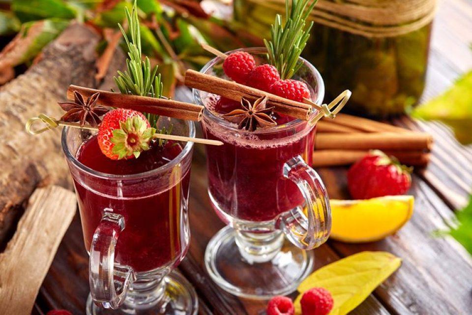 Новые сезонные напитки в кафе «Руккола»