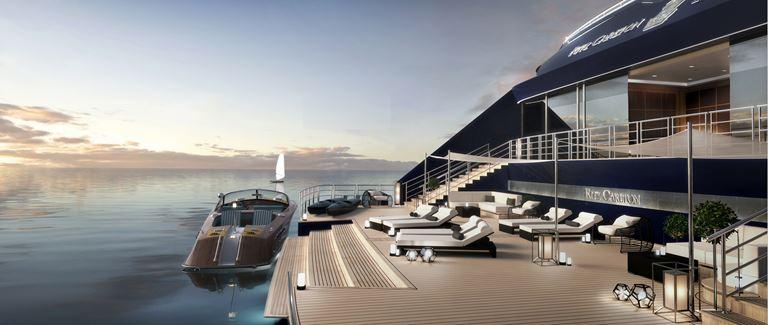 В Испании состоялась презентация яхты The Ritz-Carlton Yacht Collection