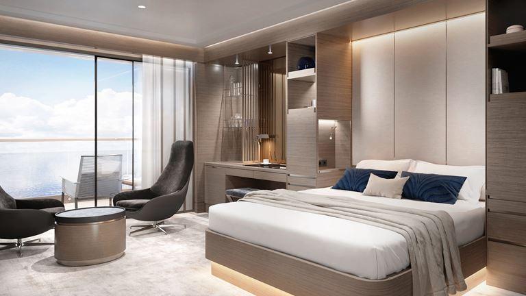 Яхта The Ritz-Carlton Yacht Collection - фото номера suite