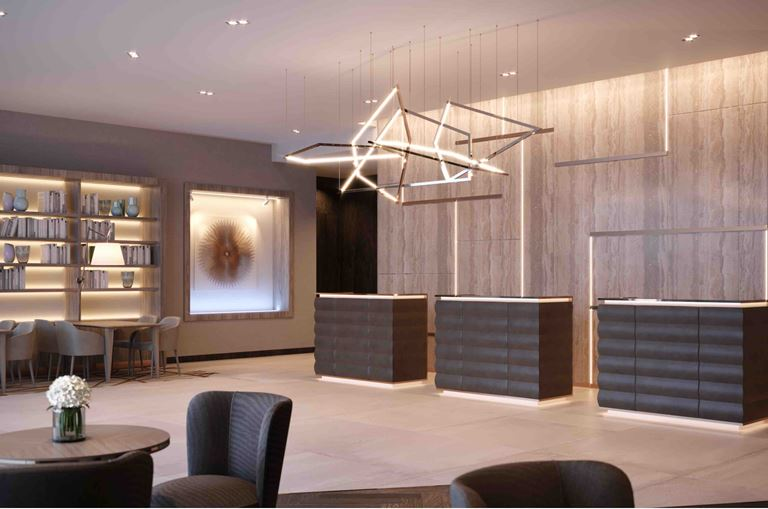 AC Hotel Manchester City Centre - лаунж зона