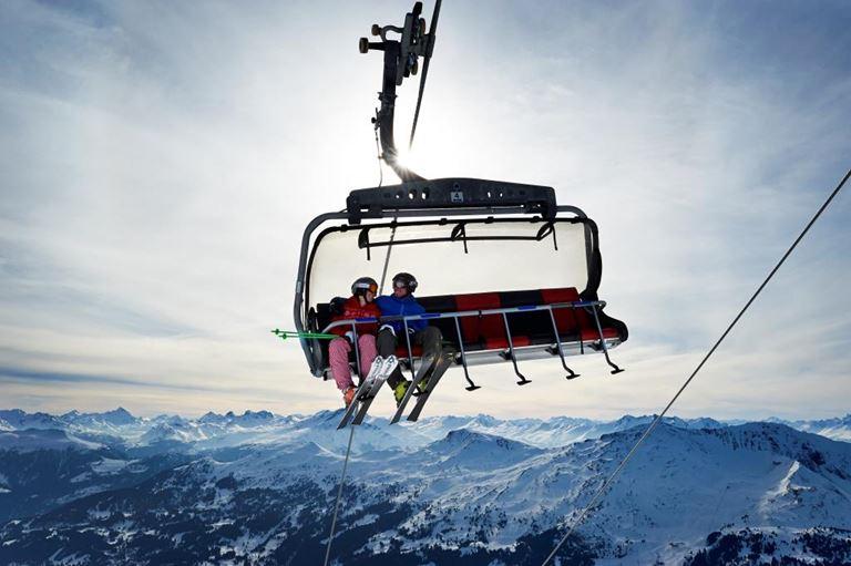 Специальное предложение Three-destination skiing: катание на лыжах в регионе Граубюнден