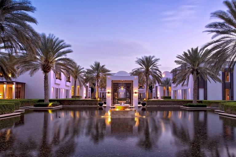 The Chedi Muscat: оазис на побережье Оманского залива