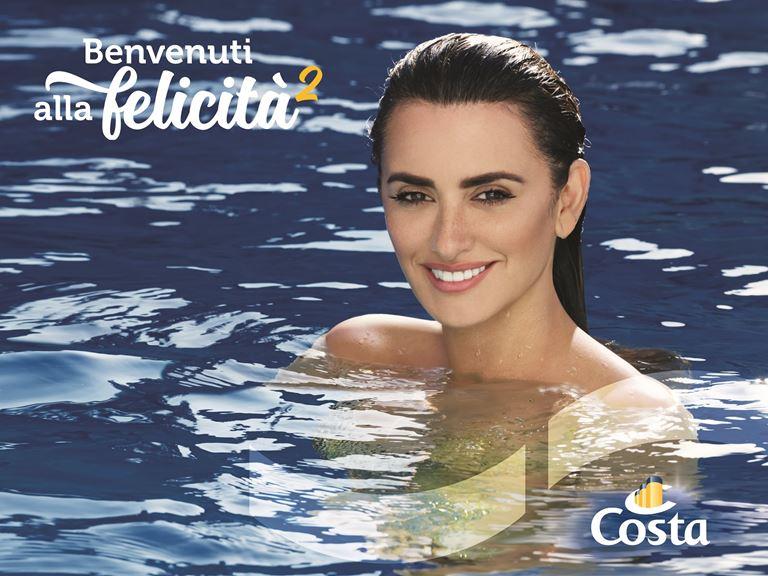 Пенелопа Крус в образе русалки для Costa Cruises