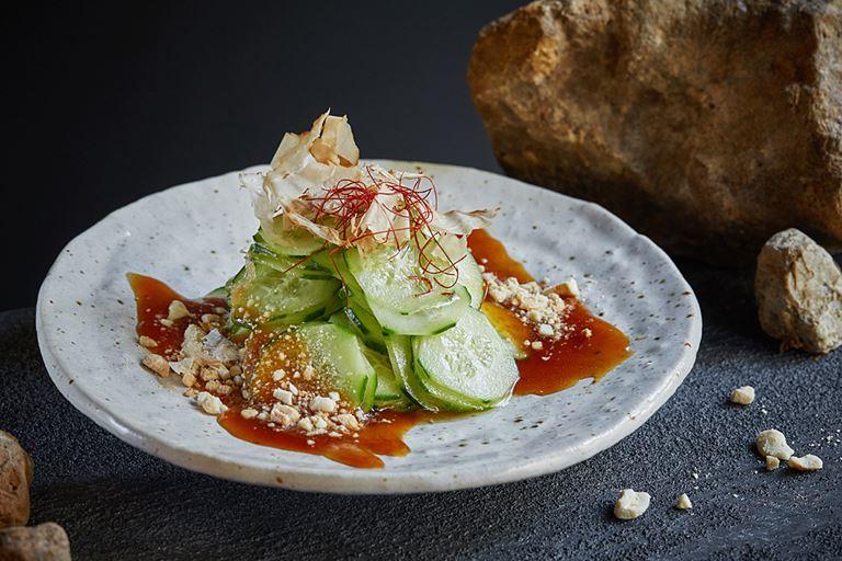 Правильное питание с японским акцентом в SHIBA - «Огурцы Шиомоми» в пряном соусе с мирином