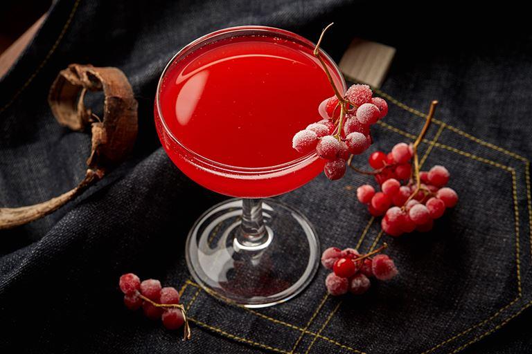 Новые сезонные напитки в «Сыроварнях» Москвы - «Брусничный гимлет» на джине