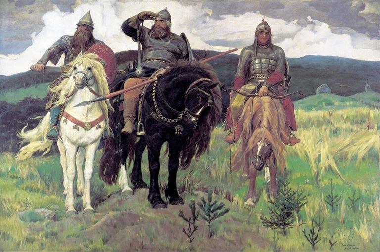 Третьяковская галерея представляет выставку В.М. Васнецова - «Богатыри» (1898)