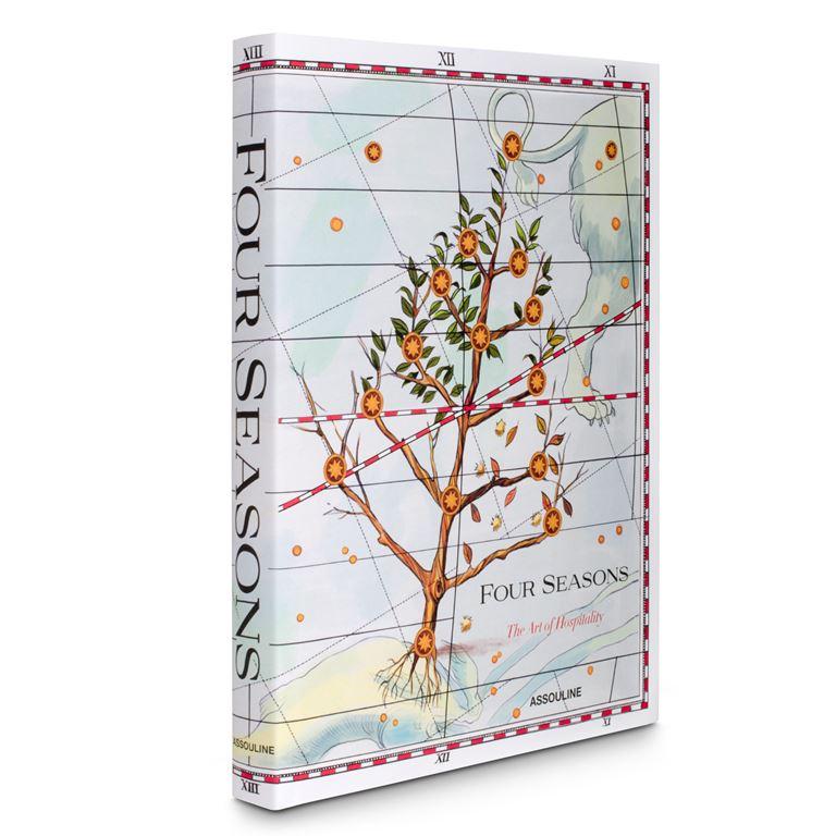 «Four Seasons: Искусство гостеприимства» - уникальная книга с иллюстрациями Игнаси Монреаля