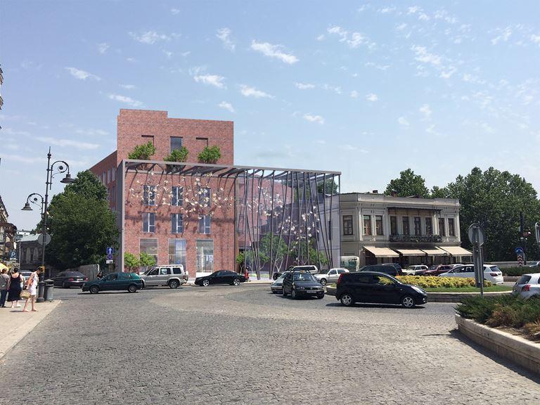 Отель Moxy в Тбилиси, Грузия