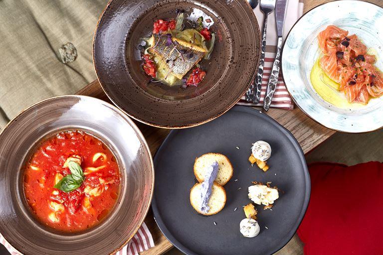 Сеты из четырех блюд за 1500 рублей в «Рыбторге»  - Сет номер 2