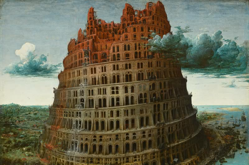 «Строительство Вавилонской башни» Питера Брейгеля