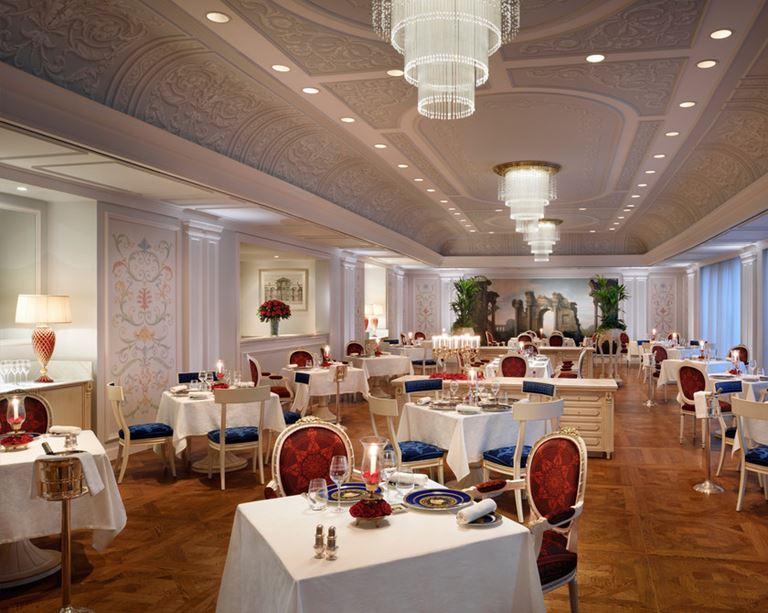 Отель Palazzo Versace Dubai - ресторан Vanitas