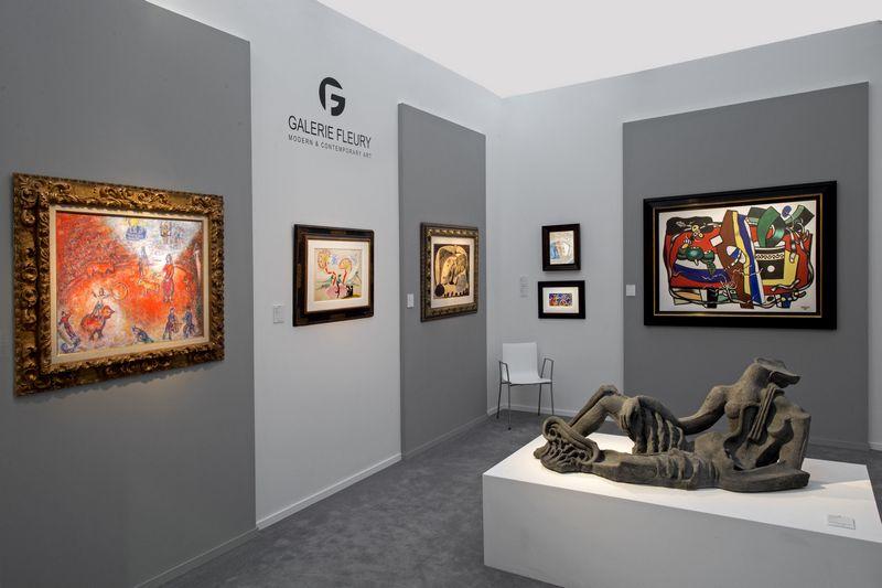 В Брюсселе пройдёт 64-я ярмарка искусства BRAFA - Стенд Galerie Fleury