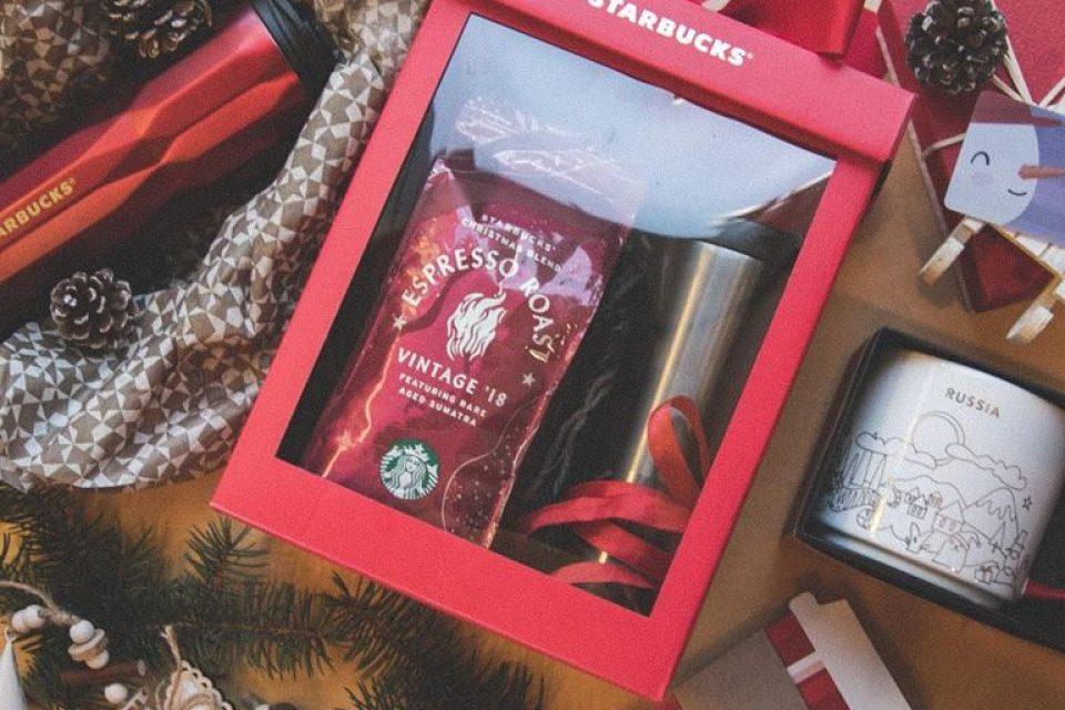 #ПраздникЭто дарить рождественское настроение вместе со Starbucks