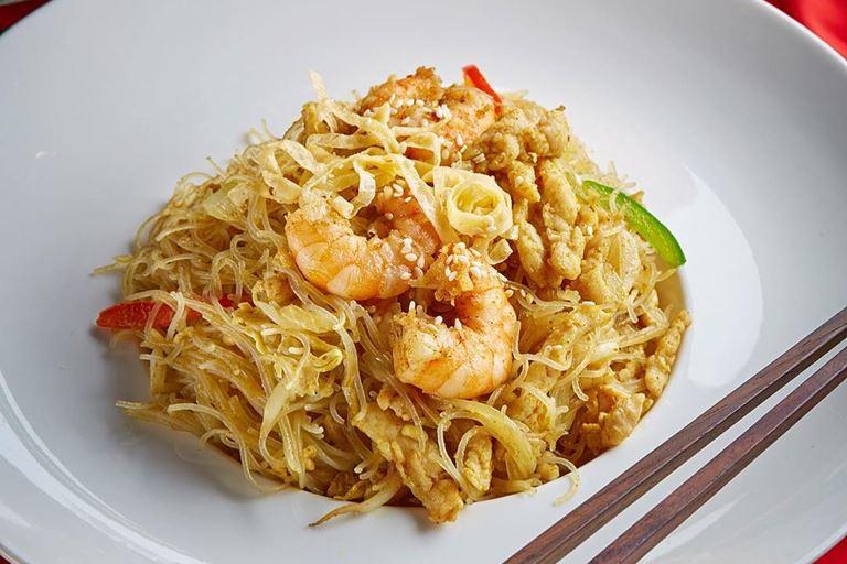 Ресторан «Китайская грамота. Бар и Еда» - Стеклянная лапша по-сингапурски