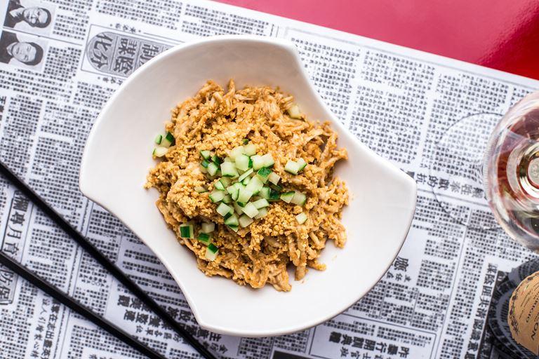 Ресторан «Китайская грамота. Бар и Еда» - Цыпленок «Бонг-Бонг»