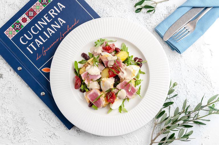 «Мама будет рада! di Giacomo Lombardi» - салат с тунцом