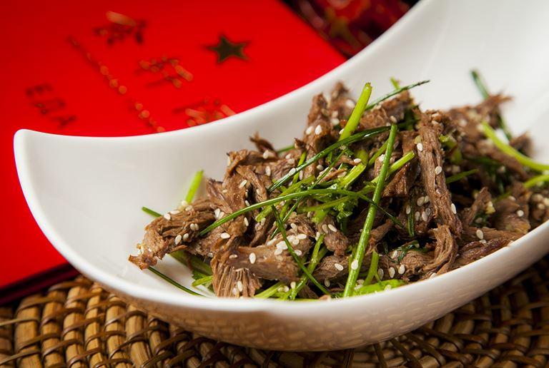 Ресторан «Китайская грамота. Бар и Еда» - Разорванное говяжье сердце