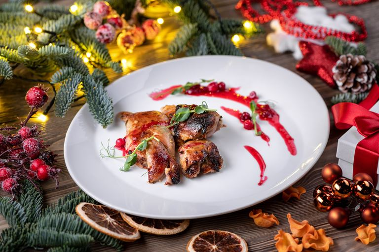 Рождество в ресторане украинской кухни «Шинок» - индейка