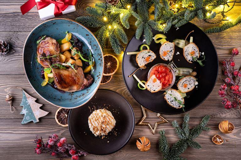 Рождество в ресторане украинской кухни «Шинок» - рождественский сет