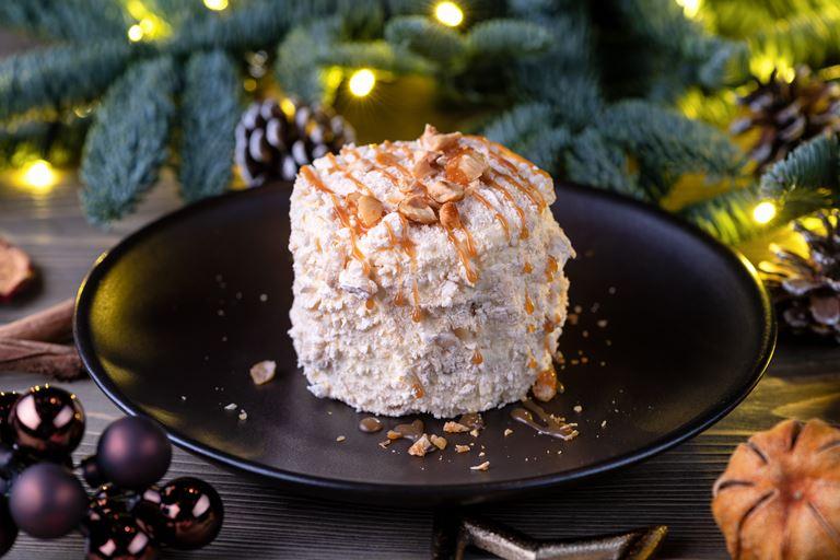 Рождество в ресторане украинской кухни «Шинок» - киевский торт