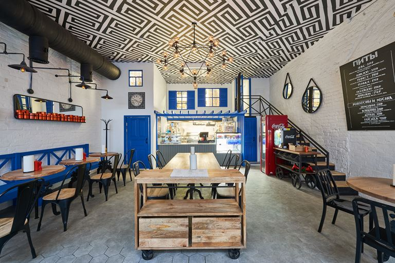 GREEK FREAK: греческая уличная еда от создателей Molon Lave