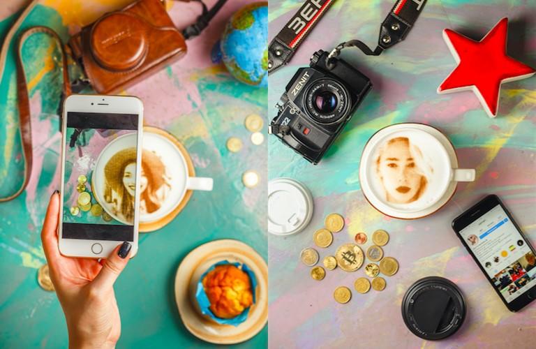 Капучино со звездой в кофейнях Stories - фото 1