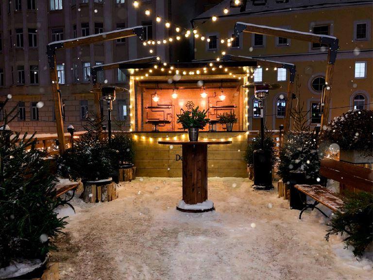 Праздничная зима в ресторанах «Сыроварня» в Москве