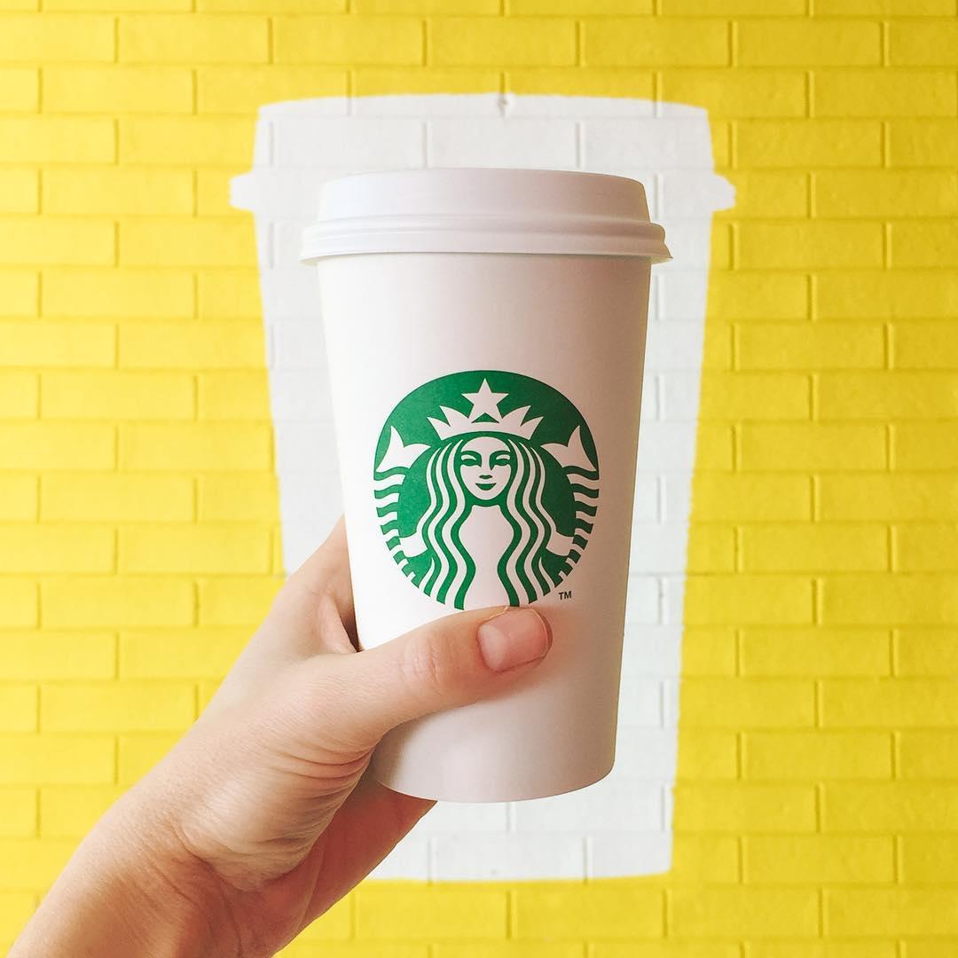Starbucks представляет напитки на зернах Blonde Espresso