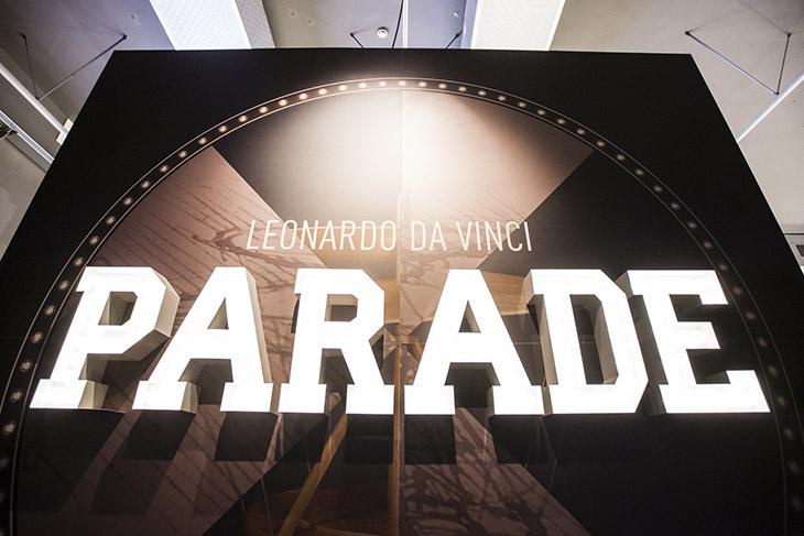 Выставка Leonardo da Vinci Parade