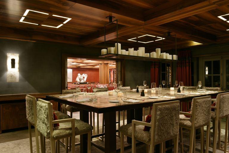 Cheval Blanc Courchevel (Франция) - Ресторан La Table De Partage