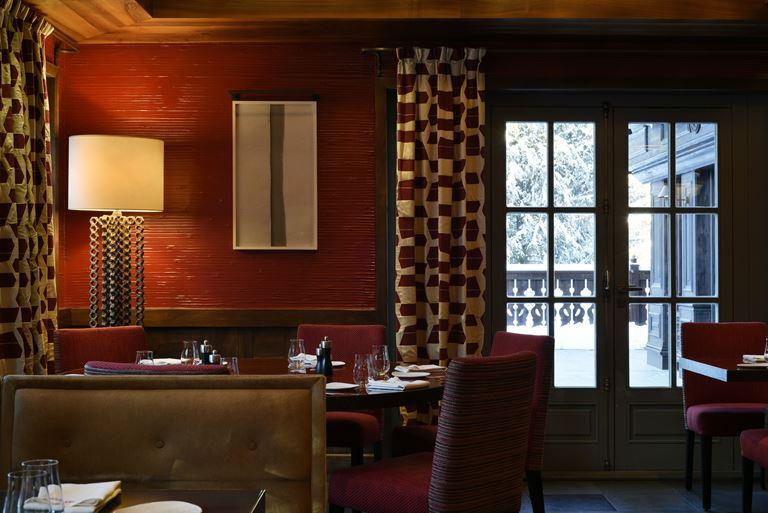 Cheval Blanc Courchevel (Франция) - Ресторан Le Triptyque