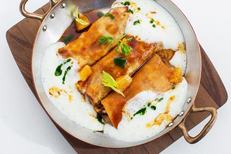 Масленица в ресторане «Аист»: блинное меню от Мирко Дзаго - фото 3