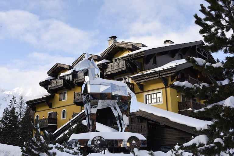 Кулинарное искусство на горнолыжном курорте Cheval Blanc Courchevel (Франция)