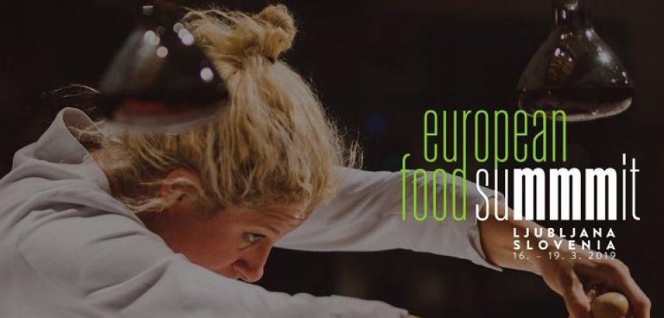 Европейский гастрономический саммит-2019 (Любляна, Словения)