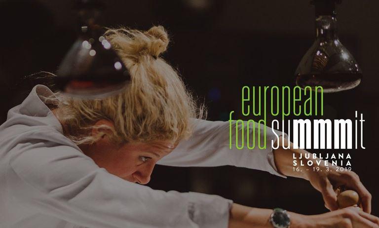 Европейский гастрономический саммит в Любляне (Словения, март 2019)