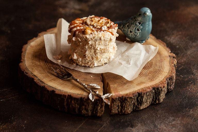 «Киевский торт» от ресторана украинской кухни «Шинок»
