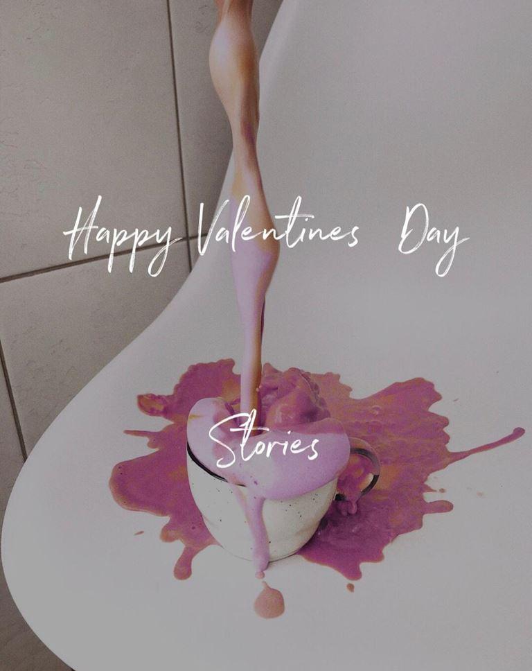 Кофейни STORIES (Санкт-Петербург) поздравят гостей с Днем Святого Валентина
