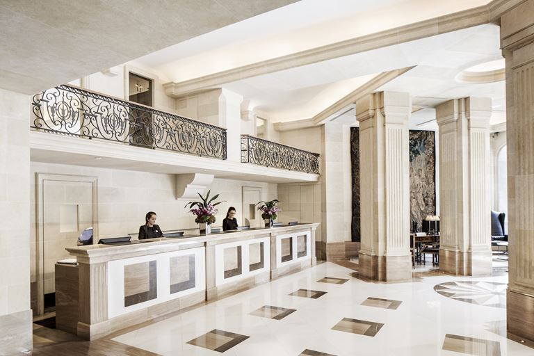 Рецепция спа-центра Majestic SPA отеля Majestic Hotel & Spa Barcelona