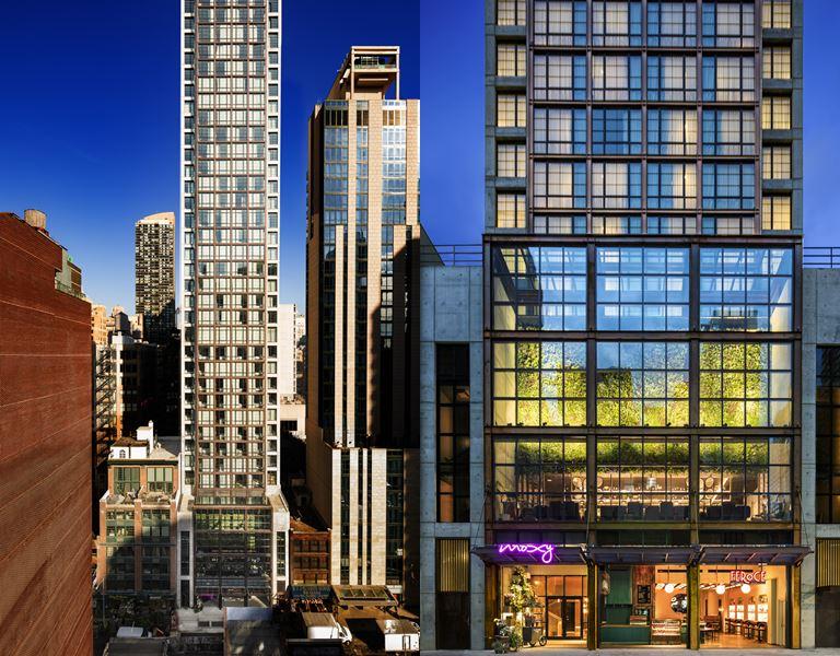 Отель Moxy Chelsea открылся в Нью-Йорке - фото 1