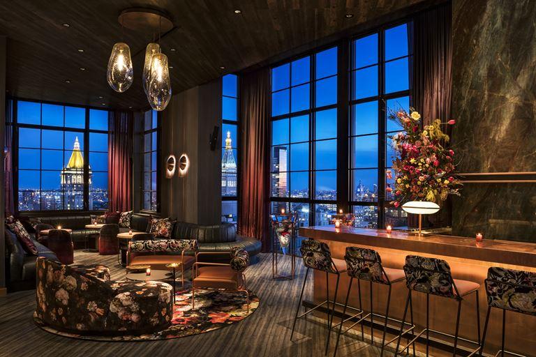 Отель Moxy Chelsea открылся в Нью-Йорке - фото 5