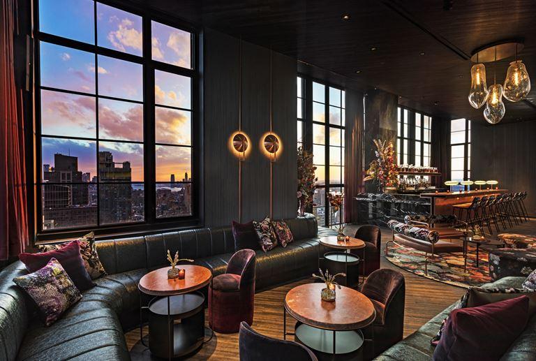 Отель Moxy Chelsea открылся в Нью-Йорке - фото 7
