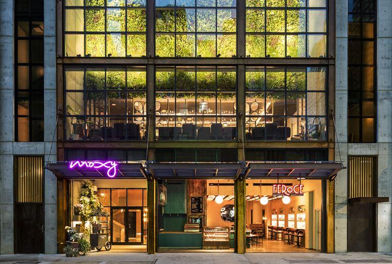 Отель Moxy Chelsea открылся в Нью-Йорке - фото 2