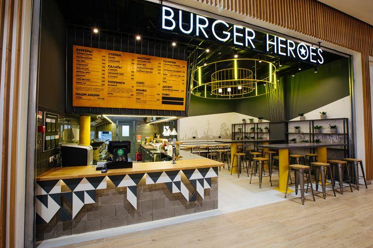 Новый Burger Heroes открылся в ТЦ «Арена Плаза»