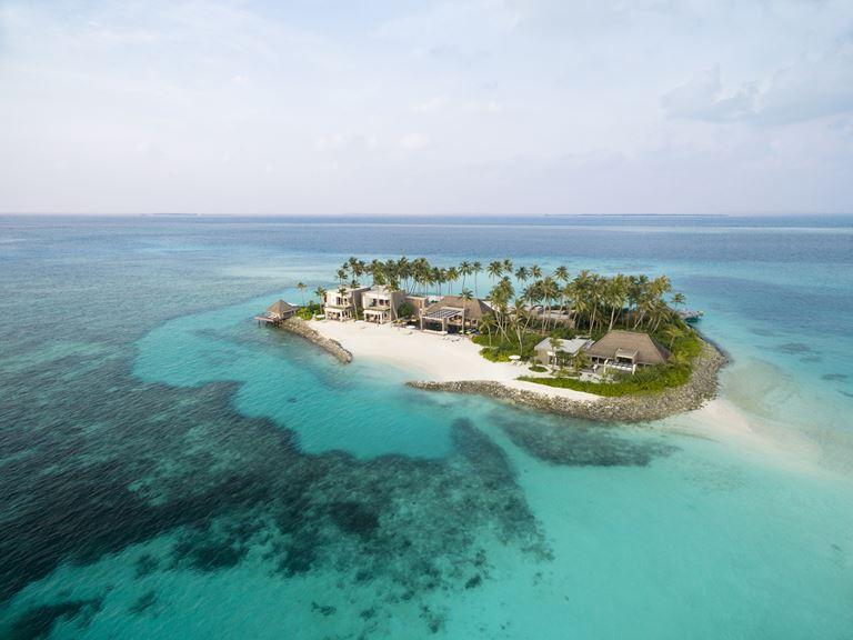 Полёт на гидросамолете на курорте Cheval Blanc Randheli (Мальдивы)