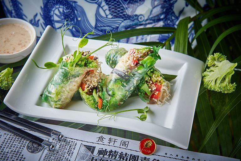 Постное меню в ресторанах «Китайская грамота. Бар и Еда»