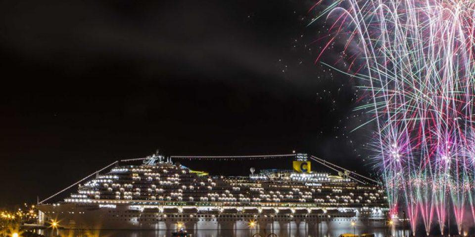 В Триесте прошла церемония имянаречения круизного лайнера Costa Venezia