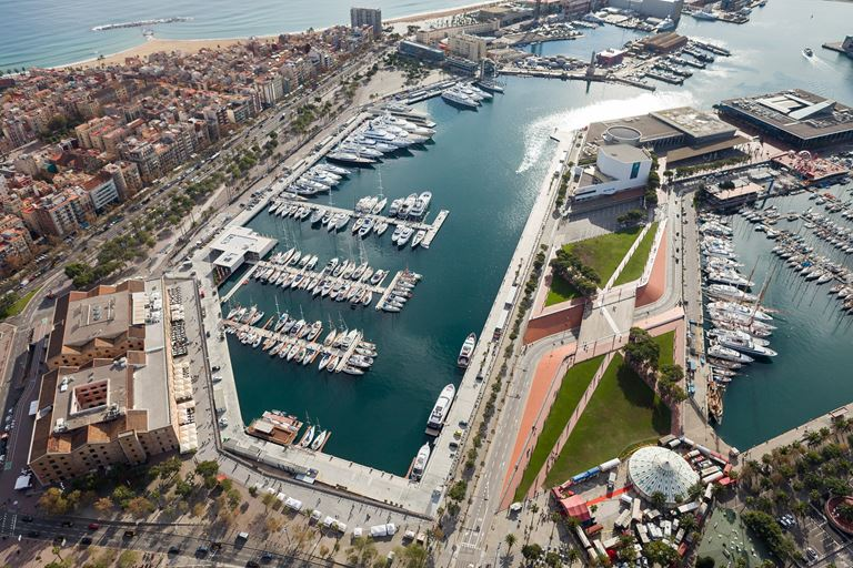 Яхтенные выставки MYBA Charter Show и The Superyacht Show пройдут в марине OneOcean Port Vell (Барселона)
